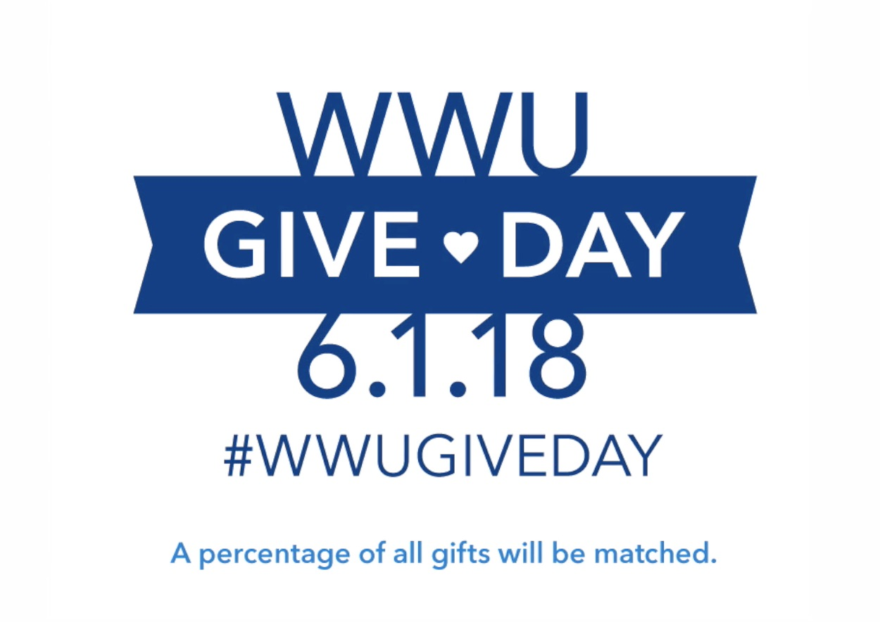 WWU Give Day 2018 logo